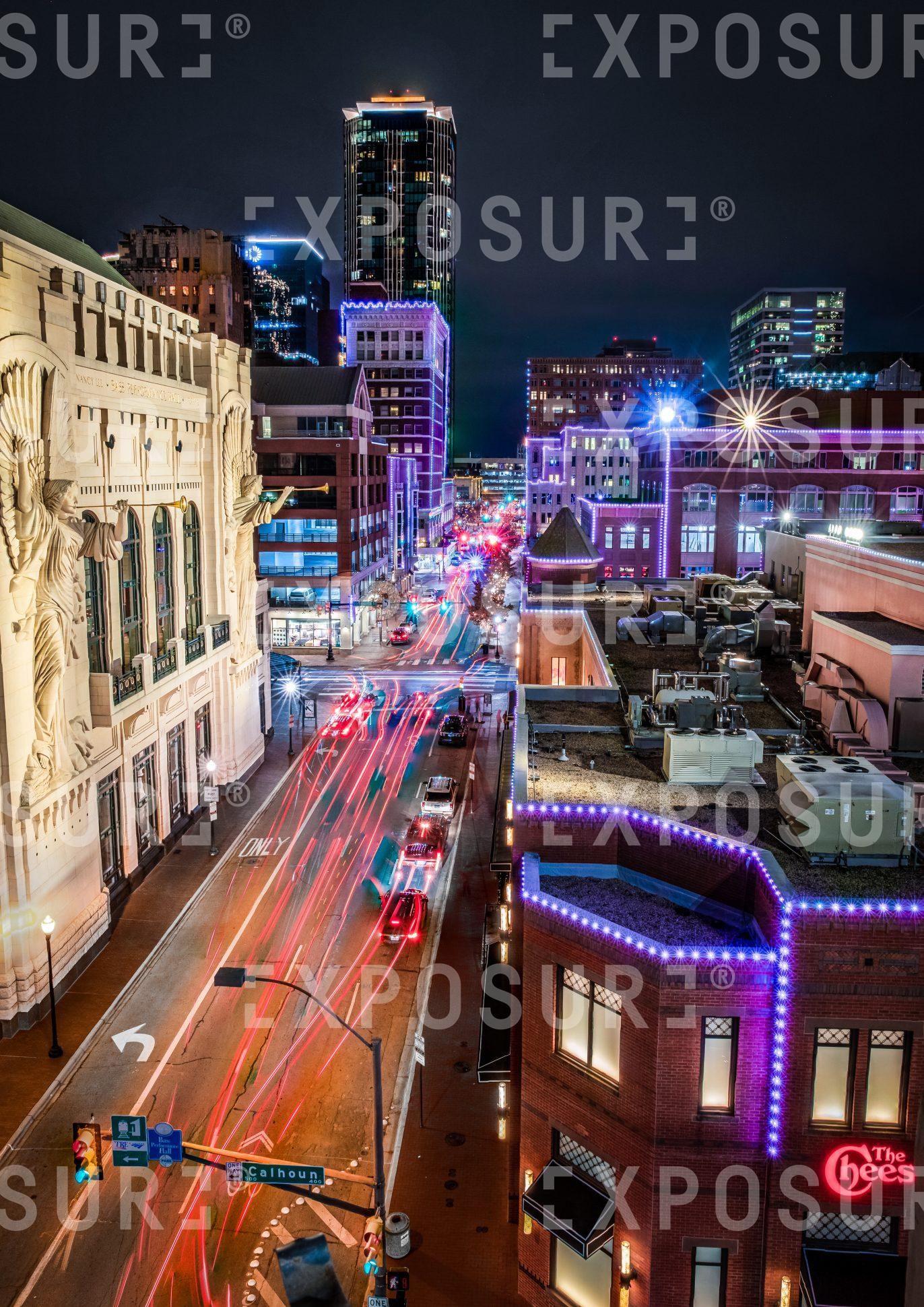 Downtown in Texas