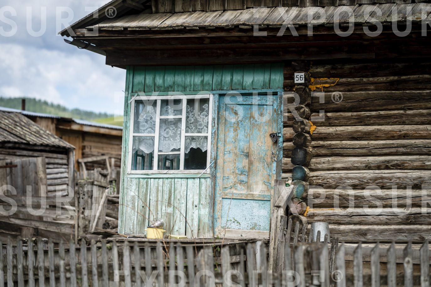 Siberian cabin.