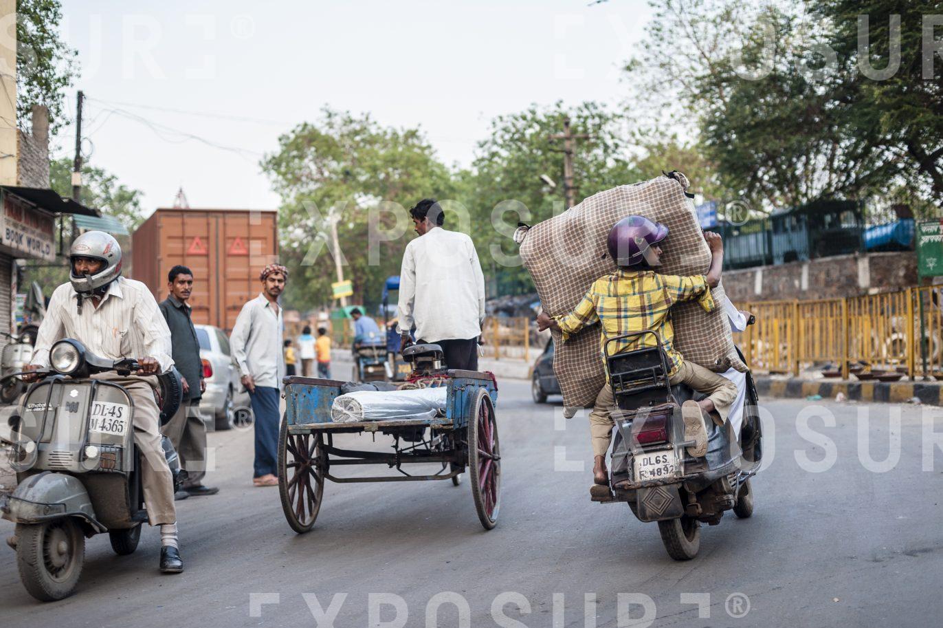 New Delhi goods transport